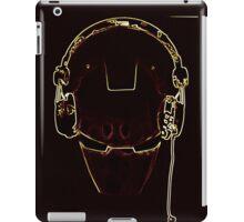 Iron DJ pop art iPad Case/Skin