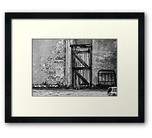 Back gate ......... Framed Print