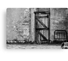 Back gate ......... Canvas Print