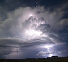 """""""Lightning super cell"""" by GrantRolphPhoto"""