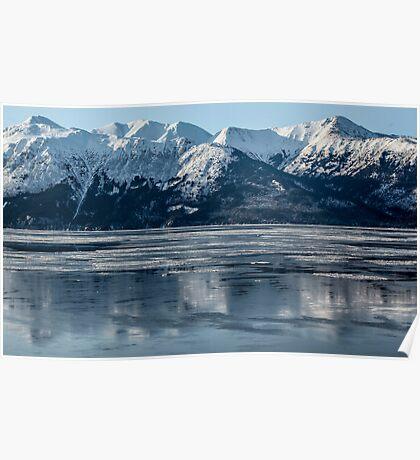 Alaska ............ice lake  Poster