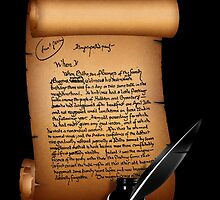 J. R. R. Tolkien's Original Handwriting-The Lord of the Rings by augustinet