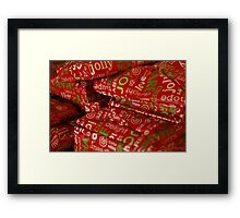 Present time ............. Framed Print