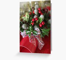 flower  bon bon  Greeting Card