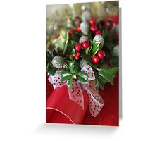 flower  bon bon  Greeting Card