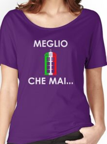 MEGLIO TARDIS CHE MAI  Women's Relaxed Fit T-Shirt