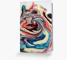 Swirls .......... Greeting Card