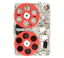 Nagra SN recorder iPad case by Marcel Flendrie