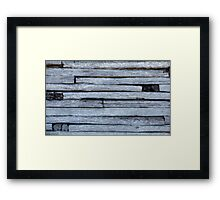 Timber lines ............. Framed Print