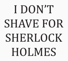 Shaving for Sherlock by HaRaKiRi