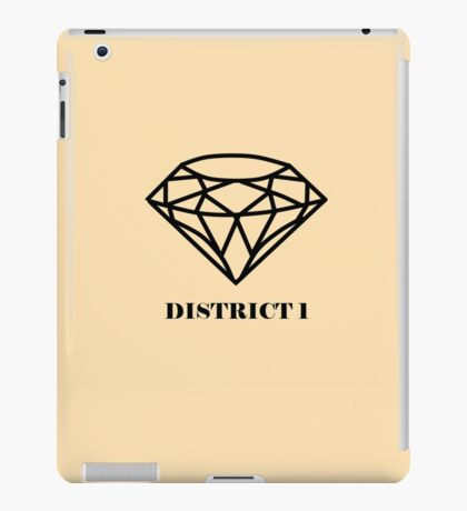 The Hunger Games - District 1 iPad Case/Skin