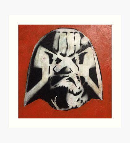 Mike McMahon's Judge Dredd Art Print