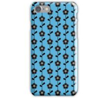 Retro Flower Pattern iPhone Case/Skin