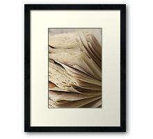 Inconstant  Framed Print