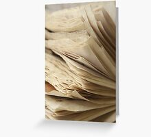 Inconstant  Greeting Card