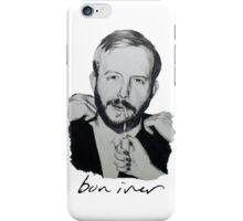 Justin Vernon/Bon Iver Drawing  iPhone Case/Skin
