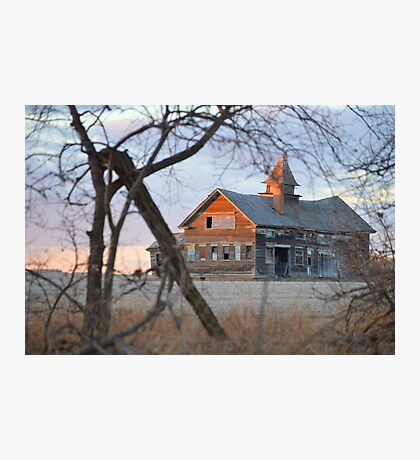 Horse Barn Photographic Print