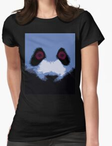 PANDA Hypnosis Womens Fitted T-Shirt