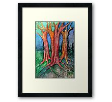 They Came To Me About Dawn Framed Print