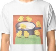 Seven Chicks Around The Pot Classic T-Shirt