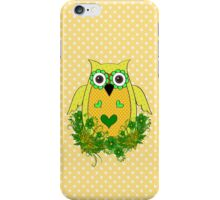 The Yellow Owl .. iPhone case iPhone Case/Skin