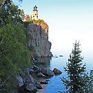 Rustic Lake Superior Lighthouse by John Carpenter