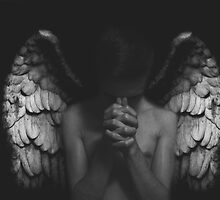Fallen Angel: Photographic Print *Special Edition* (Black and White) by Josh Pearce