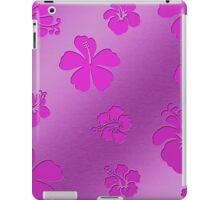 Aluminum Flowers pink iPad Case/Skin