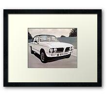 Triumph Dolomite Sprint Framed Print