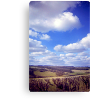 Yorkshire Clouds Canvas Print