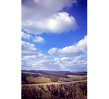 Yorkshire Clouds Photographic Print