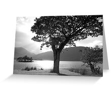 The Lakes Greeting Card