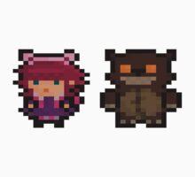 Annie and Tibbers Pixel by Lyklor