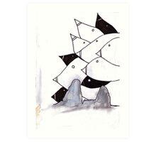 pod birds #02 Art Print