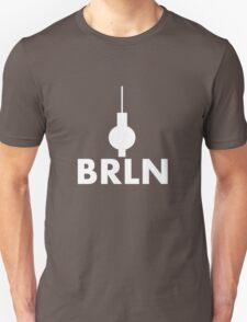 Berlin - BRLN - T-Shirt/Sticker (White) T-Shirt