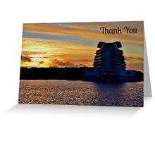 St David's Hotel & Spa, Cardiff - Thank You Card Greeting Card