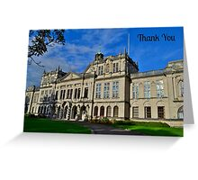 Cardiff University - Thank You Card Greeting Card