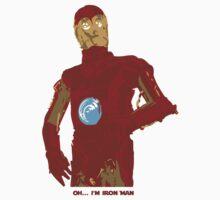 Iron-C3PO Kids Clothes