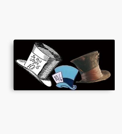 Mad Hatter - All the hats Canvas Print