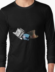Mad Hatter - All the hats Long Sleeve T-Shirt