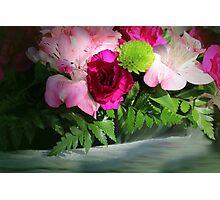 Pink Flower Challenge Photographic Print