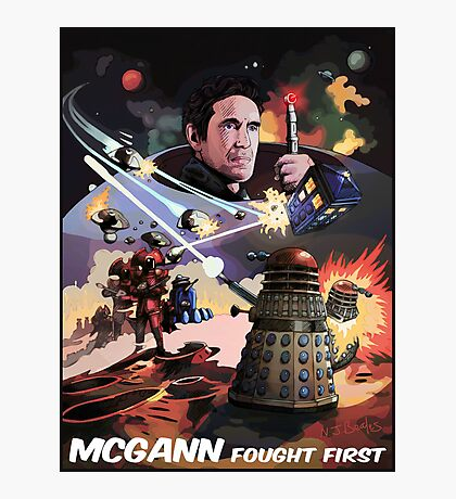 Mcgann Fought First Photographic Print