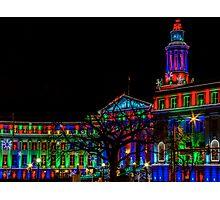 City Hall Lights Photographic Print