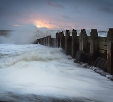 Sunrise over the storm by willgudgeon