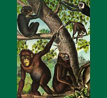 Monkeys in the Jungle Unisex T-Shirt