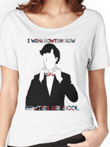 Sherlock (BBC) declaration for bowties Women's Relaxed Fit T-Shirt