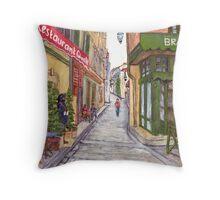 Arles Throw Pillow