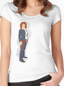 River Song Quote Women's Fitted Scoop T-Shirt