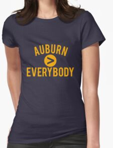 Auburn > Everybody Womens Fitted T-Shirt