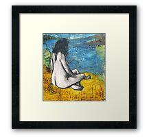 World Traveler Framed Print